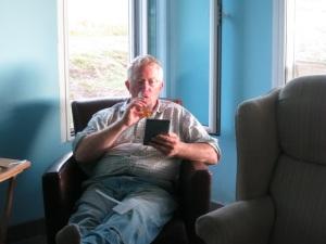 Jon relaxing
