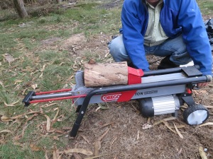 log splitter 1