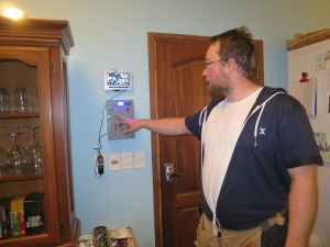 install of water controller 1